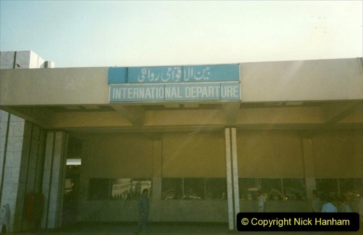 Pakistan and China 1996 June. (245) Leaving Pakistan. 245