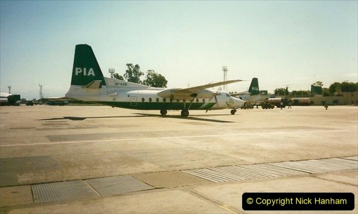 Pakistan and China 1996 June. (246) Leaving Pakistan. 246