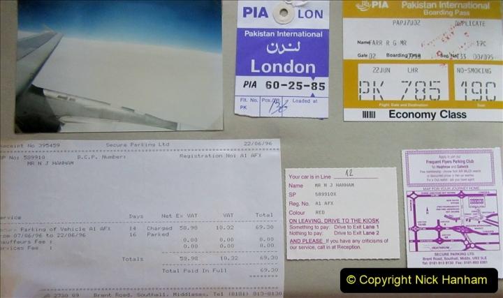 Pakistan and China 1996 June. (247) Leaving Pakistan. 247