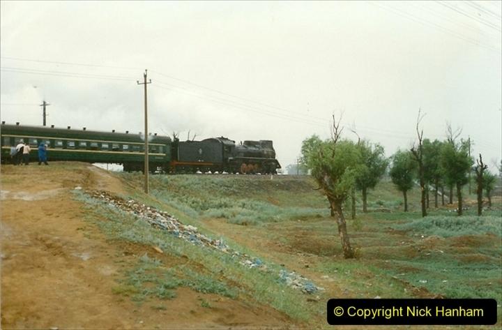 Pakistan and China 1996 June. (30) Linesiding near Baotou. 030