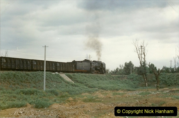 Pakistan and China 1996 June. (55) Linesiding near Baotou. 055