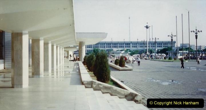 Pakistan and China 1996 June. (75) Baotou Station. 075