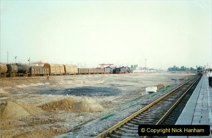 Pakistan and China 1996 June. (77) Baotou Station. 077