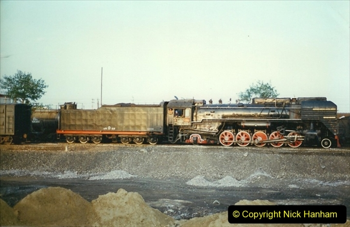 Pakistan and China 1996 June. (79) Baotou Station. 079