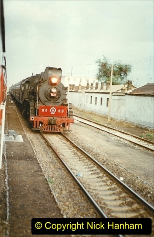 Pakistan and China 1996 June. (92) Baotou to Beijing. 092