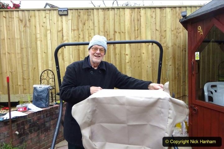 2021-03-26 New garden hammock assembley. Gaeden makeover. (23) 023