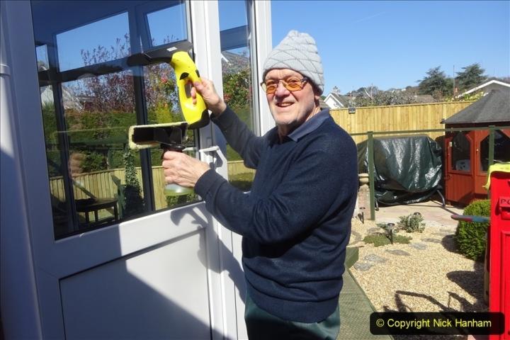 2021-03-29 Window cleaning. Garden makeover. (36) 036