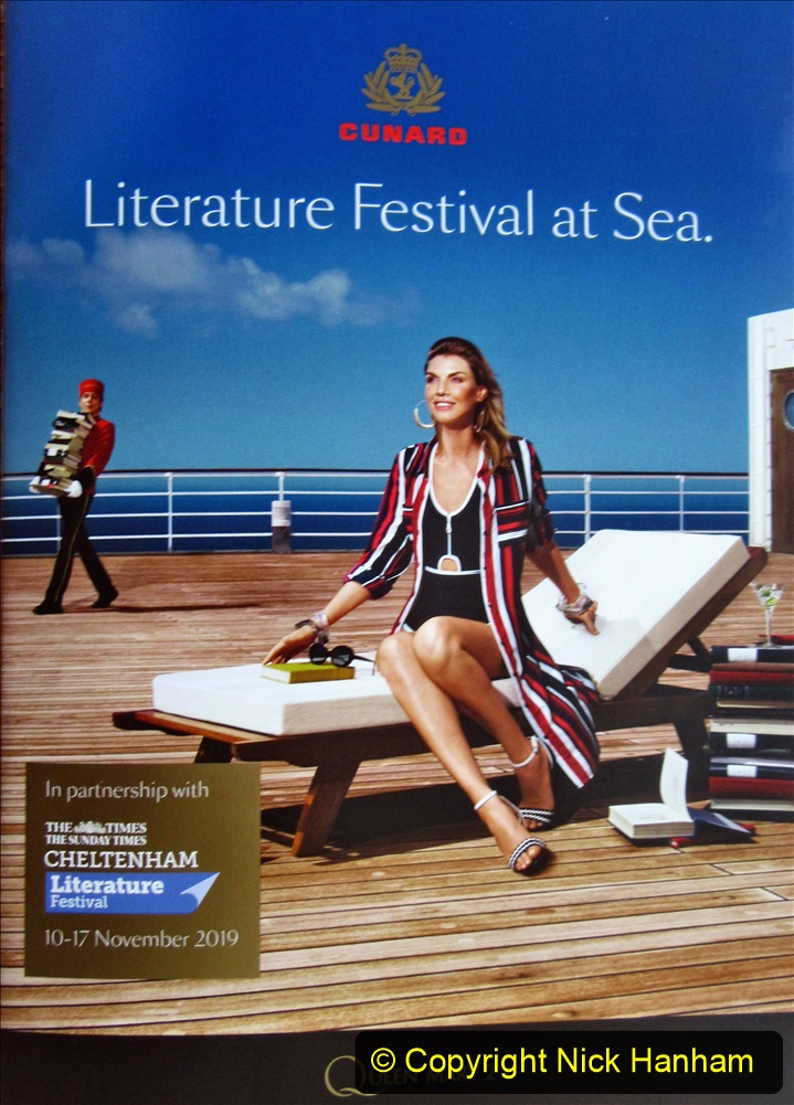 2019_11_03 to 17 Cunard's Queen Mary New York to Southampton @ first Literature Festival at Sea.  (1) 001