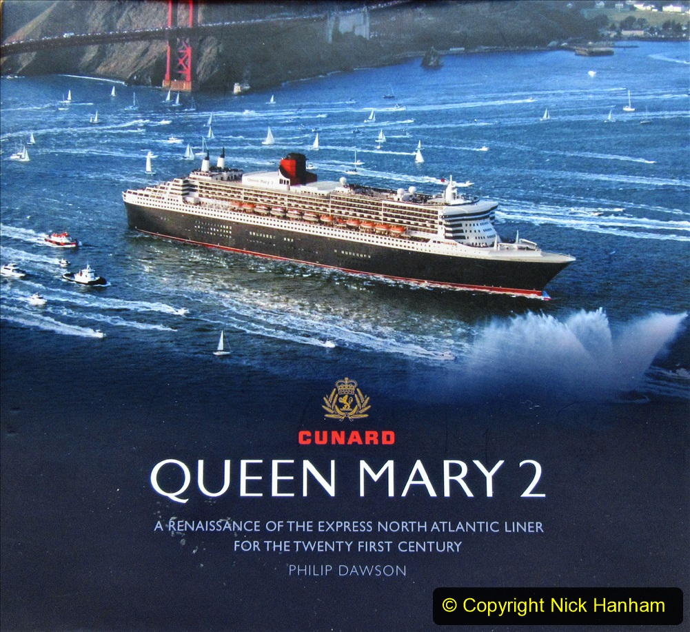2019_11_03 to 17 Cunard's Queen Mary New York to Southampton @ first Literature Festival at Sea. (163) Our Captain has signed this book for each QM voyage. 163