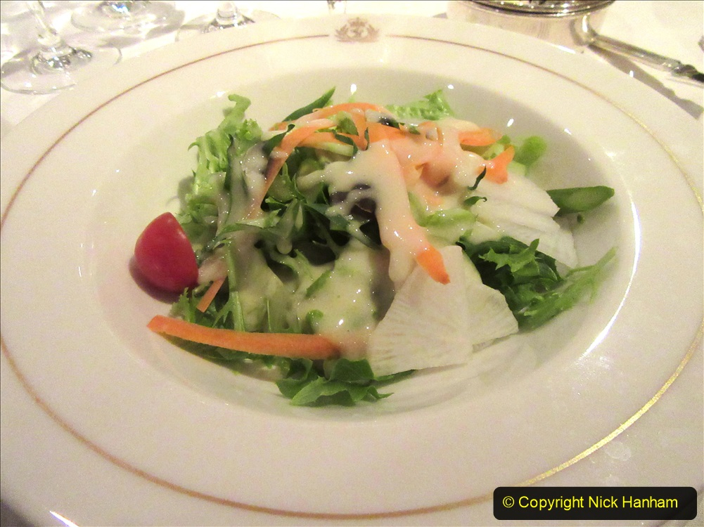 2019_11_03 to 17 Cunard's Queen Mary New York to Southampton @ first Literature Festival at Sea.  (53) Dinner. 053