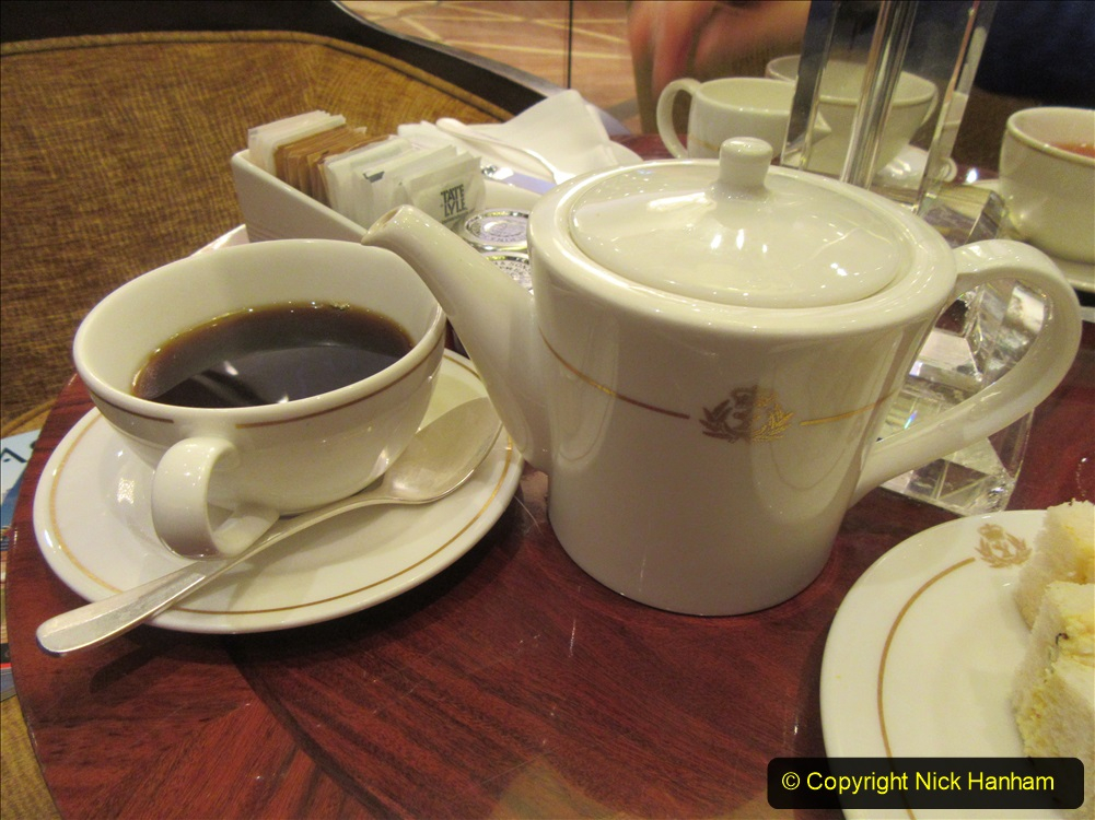 2019_11_03 to 17 Cunard's Queen Mary New York to Southampton @ first Literature Festival at Sea.  (82) White Star Afternoon Tea. 082