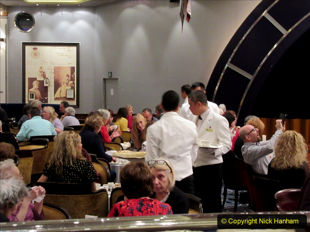 2019_11_03 to 17 Cunard's Queen Mary New York to Southampton @ first Literature Festival at Sea.  (90) White Star Afternoon Tea. 090