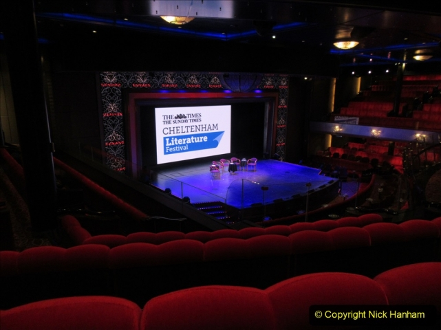 2019_11_03 to 17 Cunard's Queen Mary New York to Southampton @ first Literature Festival at Sea.  (11) 011
