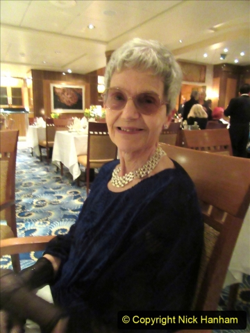 2019_11_03 to 17 Cunard's Queen Mary New York to Southampton @ first Literature Festival at Sea.  (114) Our last formal evening. 114