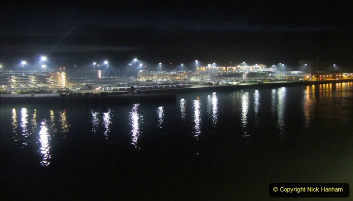 2019_11_03 to 17 Cunard's Queen Mary New York to Southampton @ first Literature Festival at Sea. (143) Approaching Southampton Quay side. 143