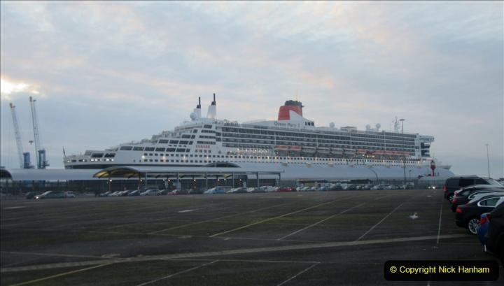2019_11_03 to 17 Cunard's Queen Mary New York to Southampton @ first Literature Festival at Sea. (160) From ship to car. 160