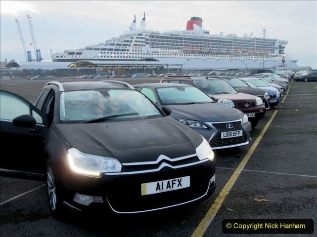 2019_11_03 to 17 Cunard's Queen Mary New York to Southampton @ first Literature Festival at Sea. (161) From ship to car. 161