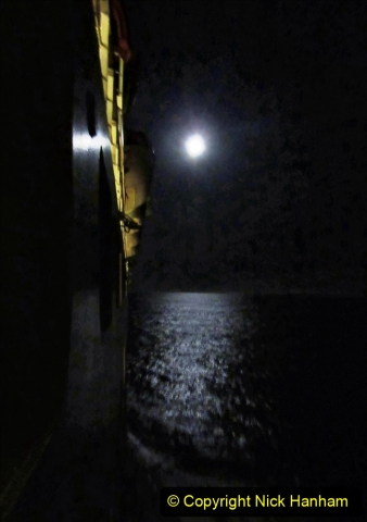 2019_11_03 to 17 Cunard's Queen Mary New York to Southampton @ first Literature Festival at Sea.  (31) An Atlantic Moon. 031