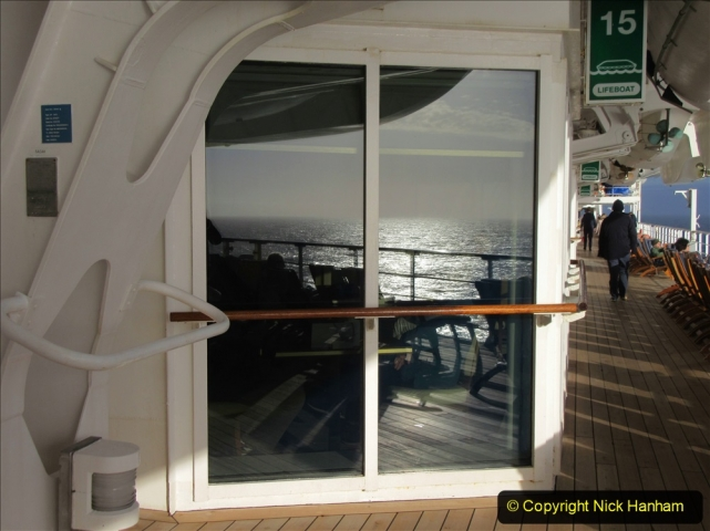 2019_11_03 to 17 Cunard's Queen Mary New York to Southampton @ first Literature Festival at Sea.  (68) A day at sea. 068