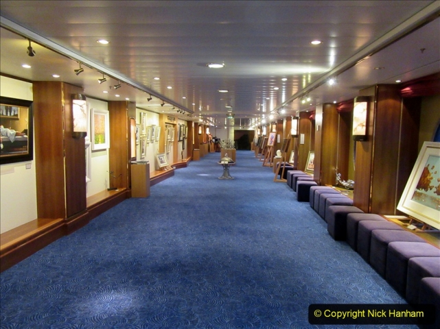 2019_11_03 to 17 Cunard's Queen Mary New York to Southampton @ first Literature Festival at Sea.  (97) The Clarenden Art Gallery. 097