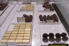 2019_11_03 to 17 Cunard's Queen Mary New York to Southampton @ first Literature Festival at Sea.  (102) Godiva Chocolates. 102