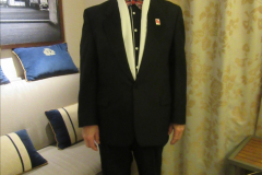 2019_11_03 to 17 Cunard's Queen Mary New York to Southampton @ first Literature Festival at Sea.  (111) Our last formal evening. 111