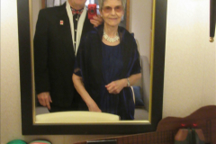 2019_11_03 to 17 Cunard's Queen Mary New York to Southampton @ first Literature Festival at Sea.  (113) Our last formal evening. 113