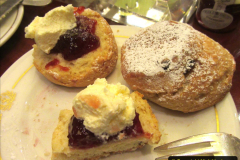 2019_11_03 to 17 Cunard's Queen Mary New York to Southampton @ first Literature Festival at Sea.  (91) White Star Afternoon Tea. 091