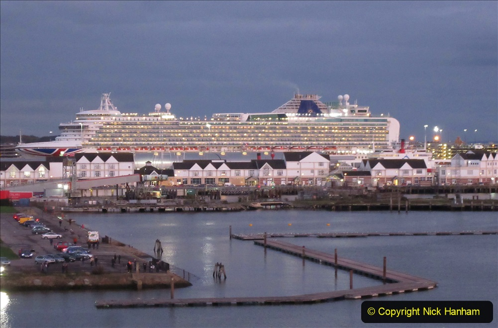 2019-11-03 to 17 Cunard's Queen Mary Southampton to New York. (139) Southampton. 139