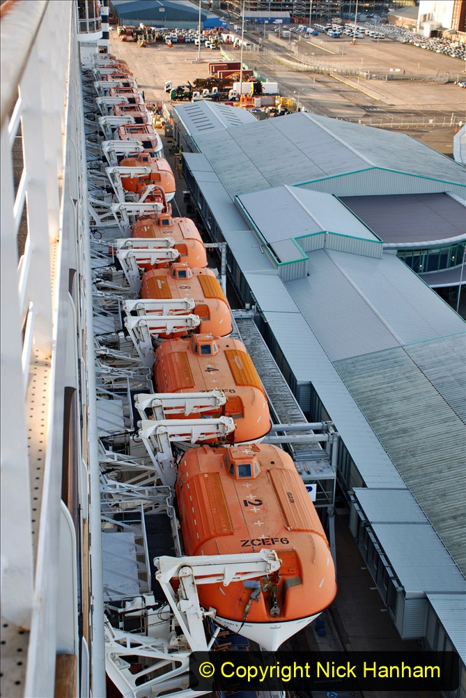 2019-11-03 to 17 Cunard's Queen Mary Southampton to New York. (15) Our ship. 015