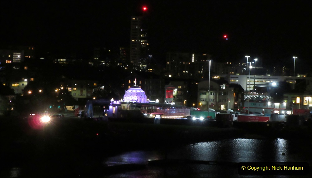2019-11-03 to 17 Cunard's Queen Mary Southampton to New York. (180) Leaving Southampton for New York. 180