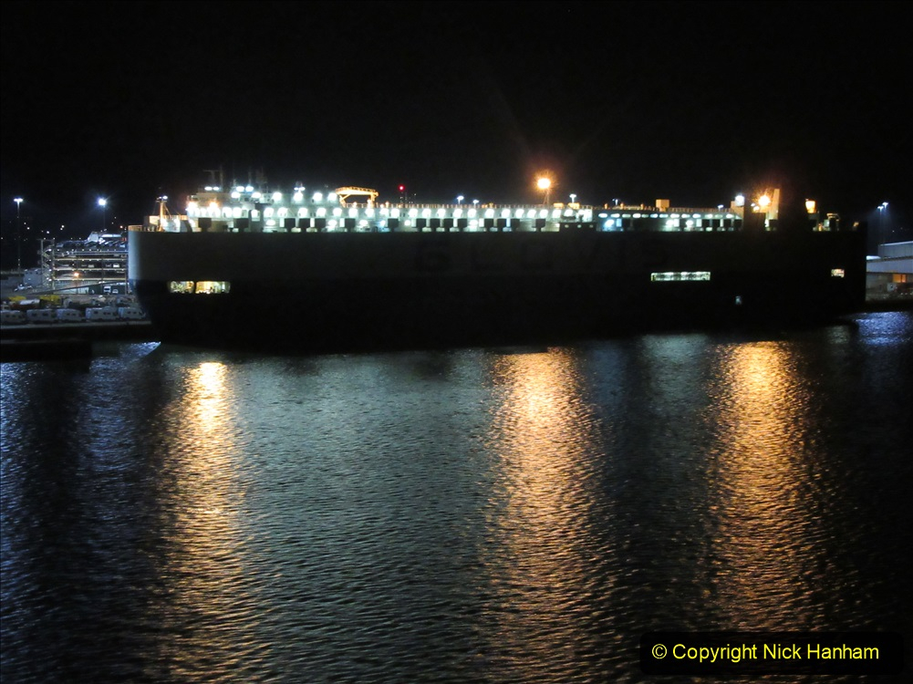 2019-11-03 to 17 Cunard's Queen Mary Southampton to New York. (183) Leaving Southampton for New York. 183