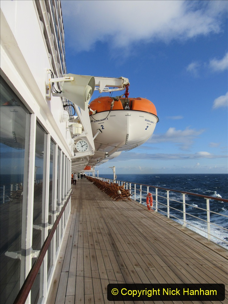 2019-11-03 to 17 Cunard's Queen Mary Southampton to New York. (188) At sea. 188