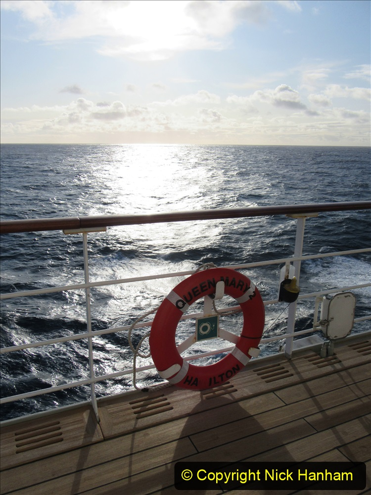 2019-11-03 to 17 Cunard's Queen Mary Southampton to New York. (190) At sea. 190