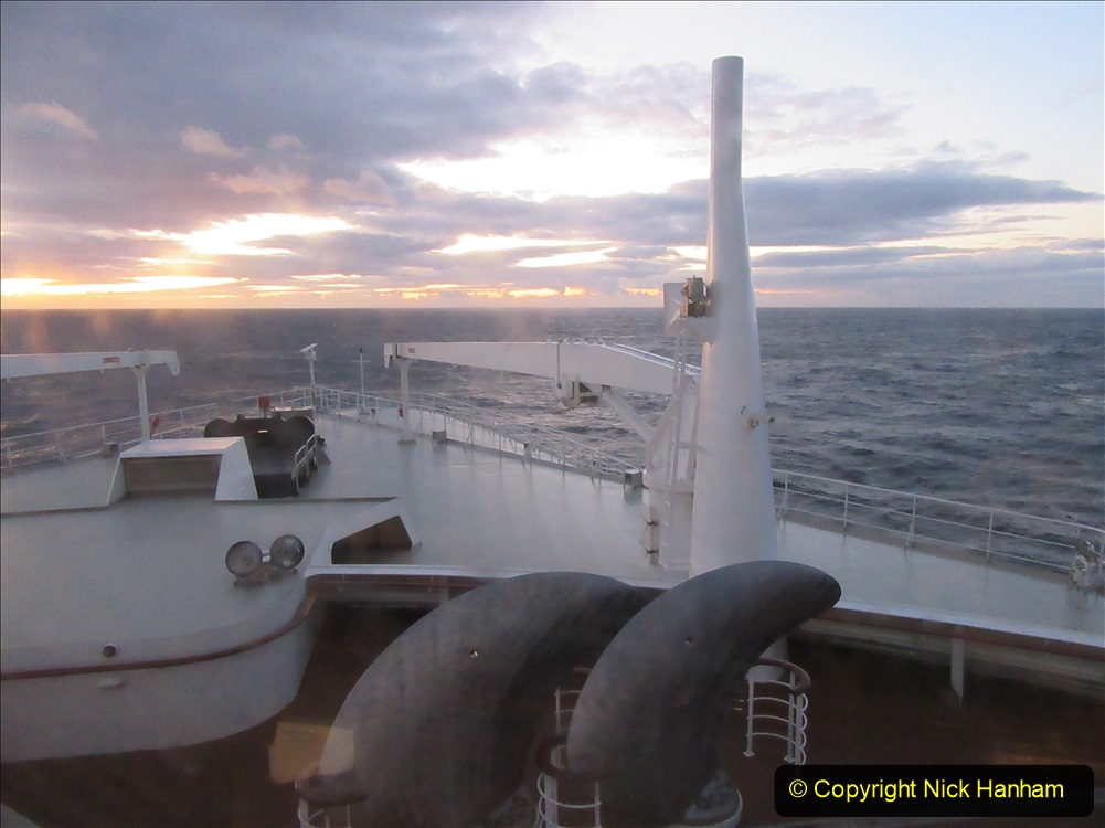 2019-11-03 to 17 Cunard's Queen Mary Southampton to New York. (207) At sea. 207
