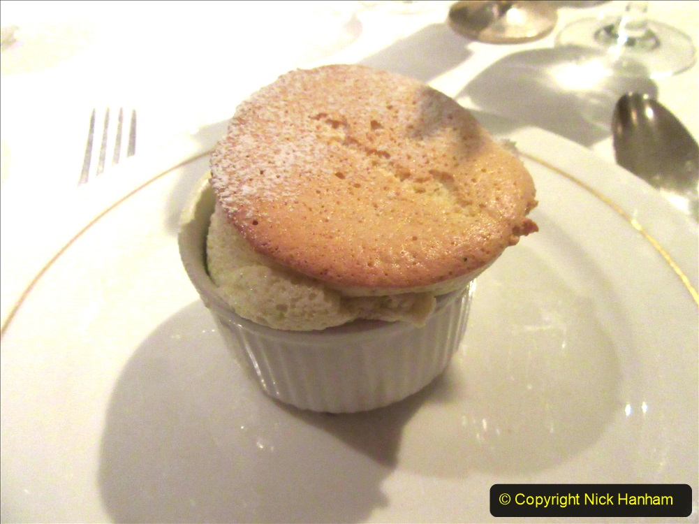 2019-11-03 to 17 Cunard's Queen Mary Southampton to New York. (228) Formal dinner. 228