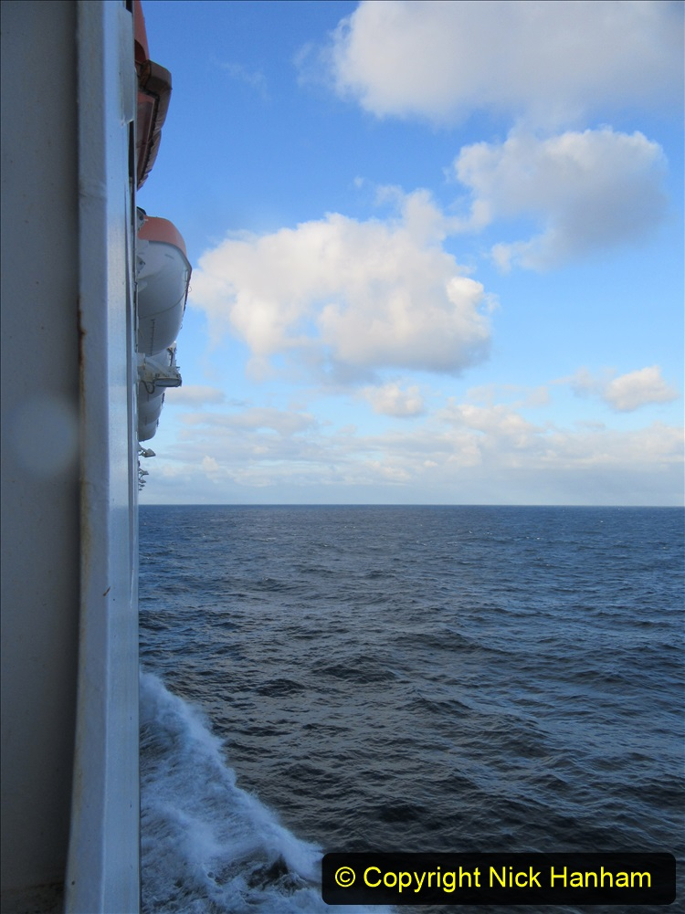 2019-11-03 to 17 Cunard's Queen Mary Southampton to New York. (240) At sea. 240