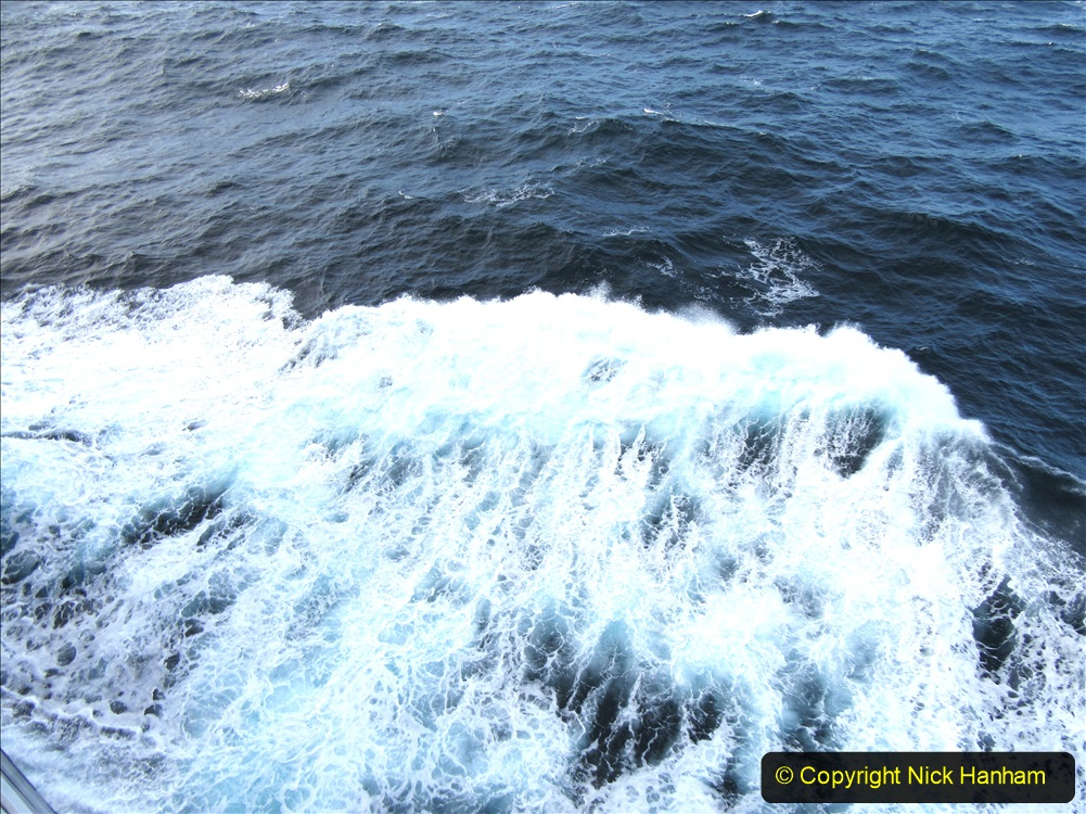 2019-11-03 to 17 Cunard's Queen Mary Southampton to New York. (254) At sea. 254