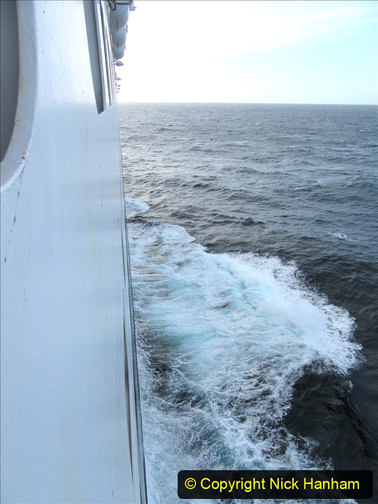 2019-11-03 to 17 Cunard's Queen Mary Southampton to New York. (257) At sea. 257