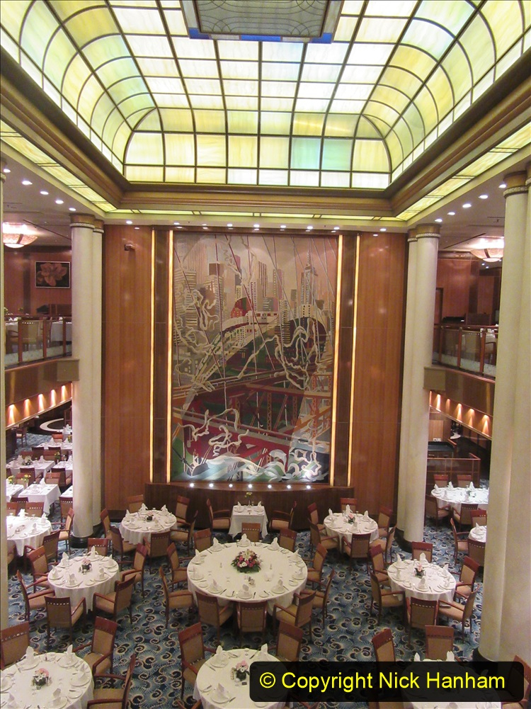 2019-11-03 to 17 Cunard's Queen Mary Southampton to New York. (42) Our ship. 042