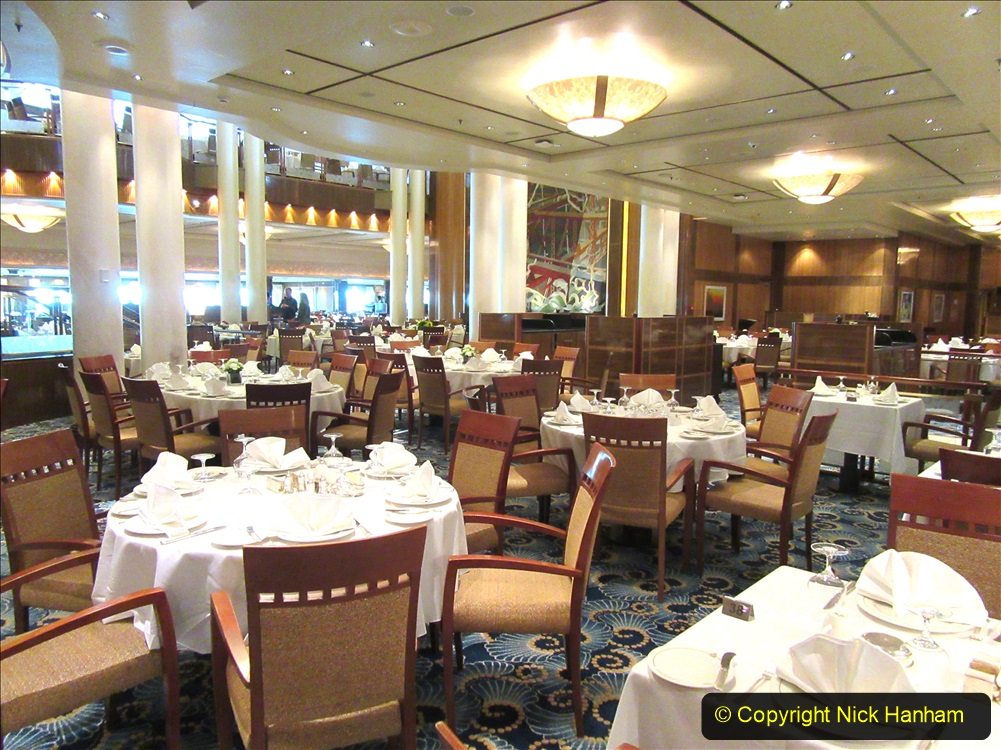 2019-11-03 to 17 Cunard's Queen Mary Southampton to New York. (47) Our ship. 047