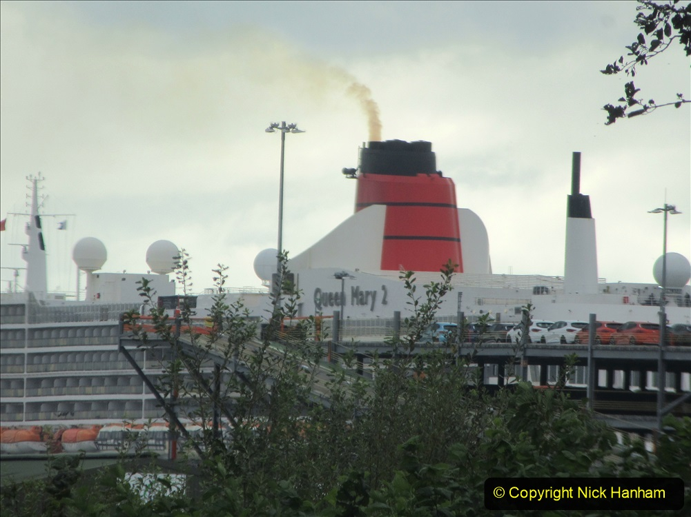 2019-11-03 to 17 Cunard's Queen Mary Southampton to New York. (6) To Southampton from Poole, Dorset. 006