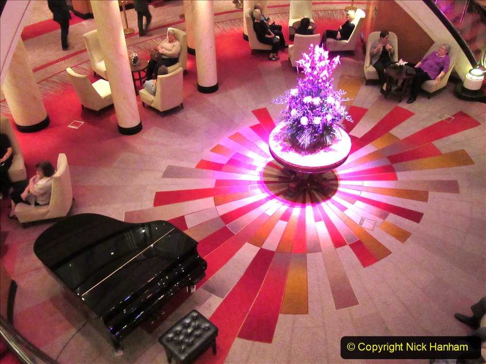 2019-11-03 to 17 Cunard's Queen Mary Southampton to New York. (62) Our ship. 062