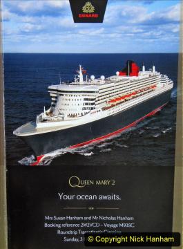 Queen Mary 2 Southampton to New York November 2019