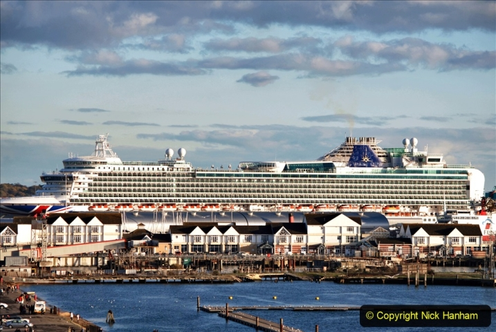 2019-11-03 to 17 Cunard's Queen Mary Southampton to New York. (130) Southampton. 130