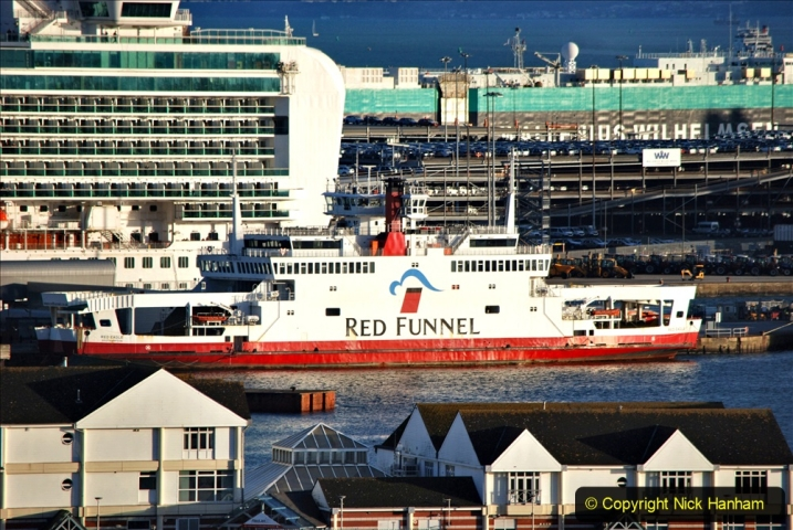 2019-11-03 to 17 Cunard's Queen Mary Southampton to New York. (131) Southampton. 131