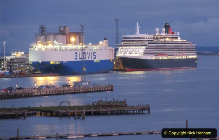 2019-11-03 to 17 Cunard's Queen Mary Southampton to New York. (140) Southampton. 140