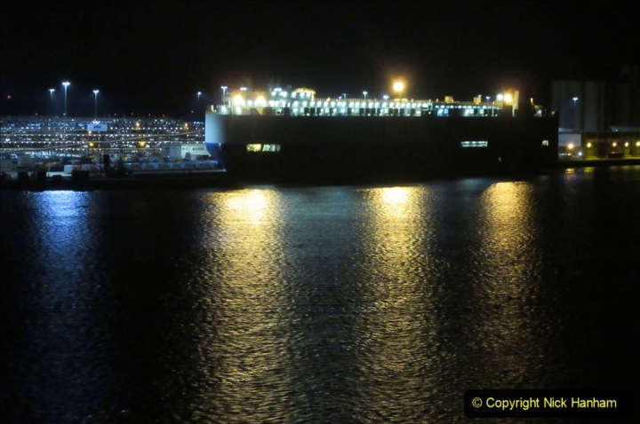 2019-11-03 to 17 Cunard's Queen Mary Southampton to New York. (182) Leaving Southampton for New York. 182