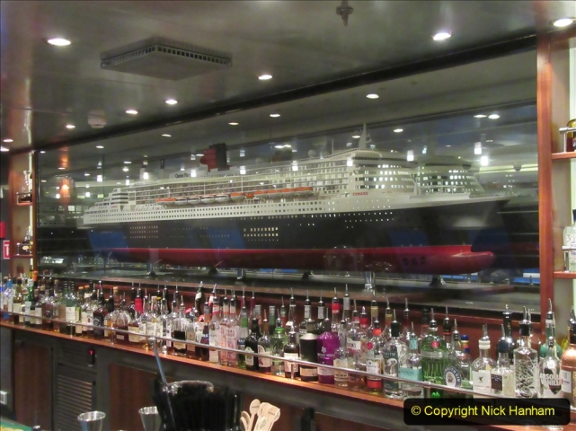 2019-11-03 to 17 Cunard's Queen Mary Southampton to New York. (219) Around the ship. 219