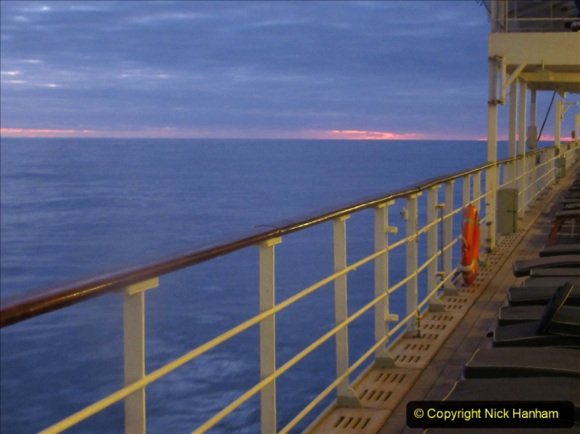 2019-11-03 to 17 Cunard's Queen Mary Southampton to New York. (243) At sea. 243